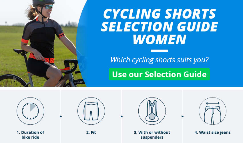 Women's Cycling Shorts & Bib Shorts