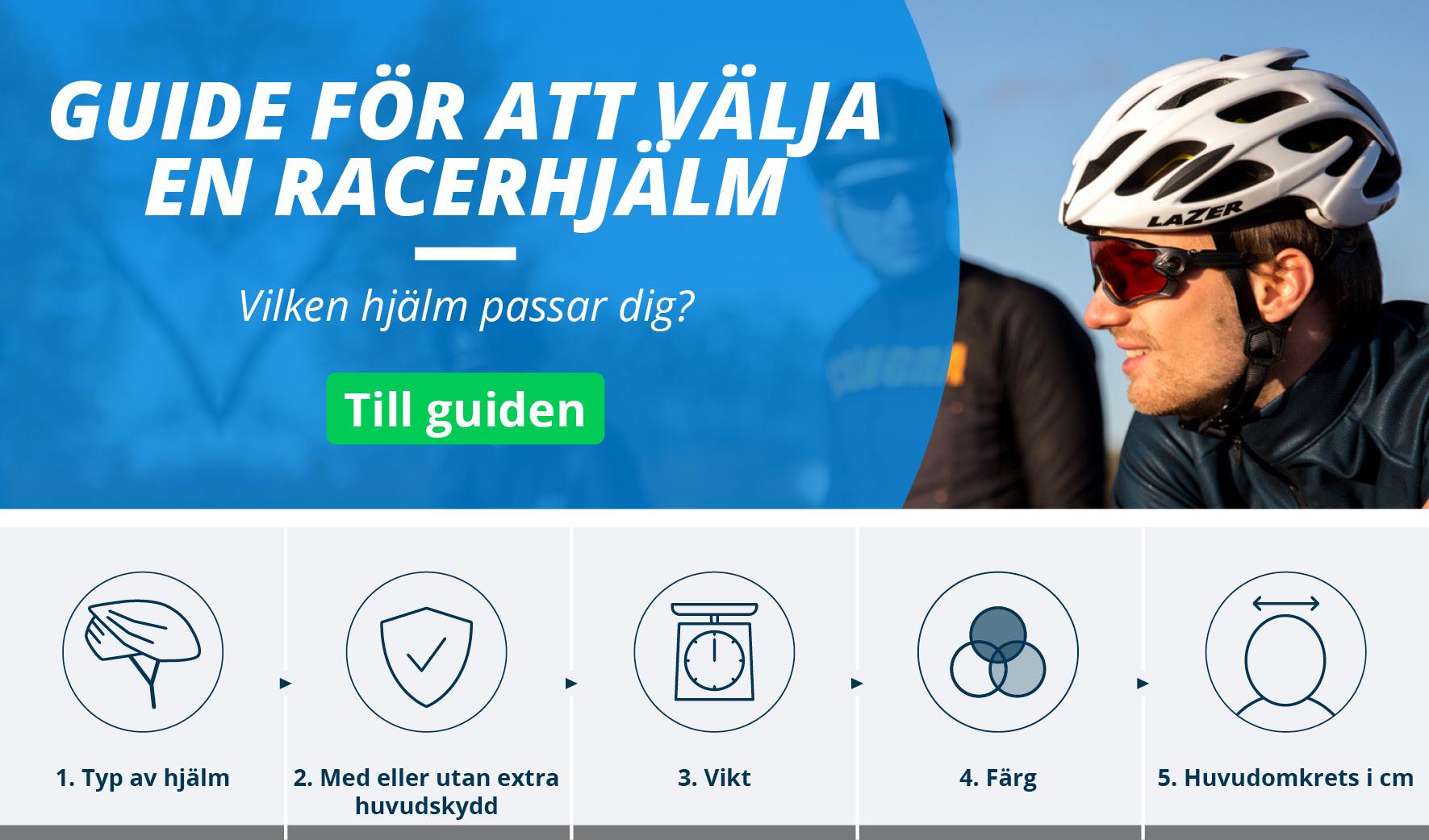 Racercykel hjälmar