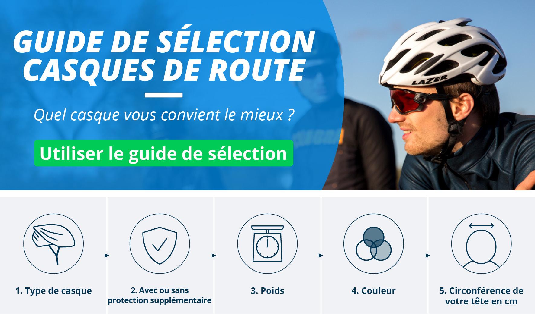 Casques Vélo Route