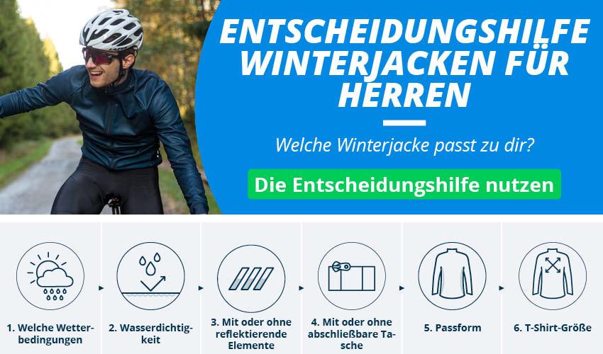 Fahrradjacken und -westen für Herren