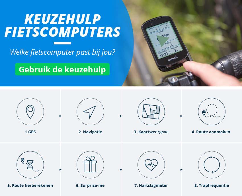 Fietscomputers GPS