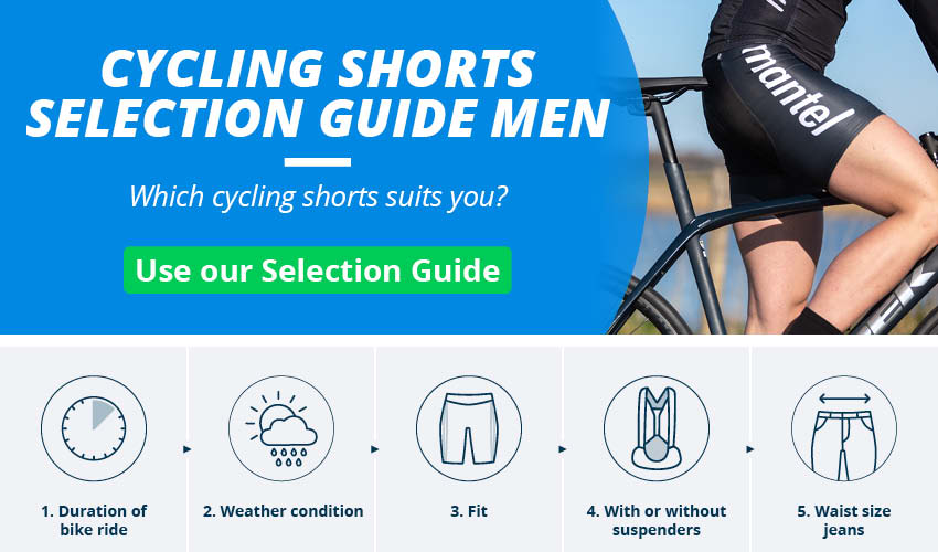 Men's Cycling Shorts & Bib Shorts