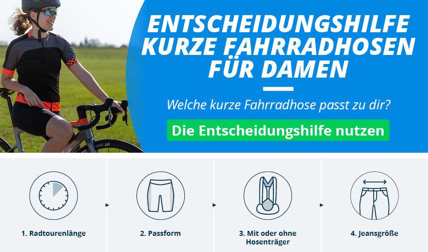 Fahrradhosen für Damen
