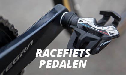 Racefiets Pedalen