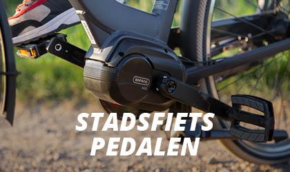 Stadsfiets & E-bike Pedalen