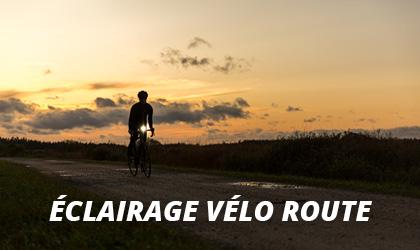 Éclairage Vélo Route