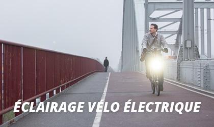 Éclairage Vélo Électrique