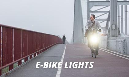 Cykellygter Elcykel