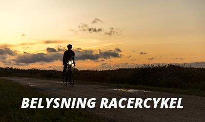Belysning Racercykel