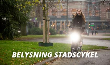 Belysning Stadscykel