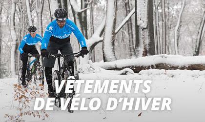Vêtements de Vélo Hiver