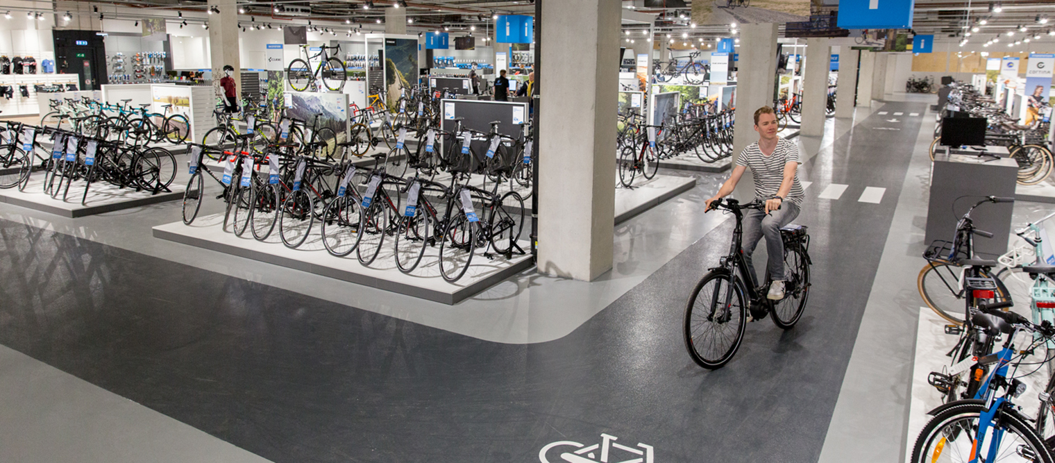 Mantel Superstore - The bike store of Utrecht