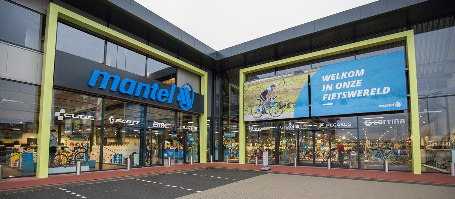 Mantel Superstore - Le magasin de vélos à Den Bosch