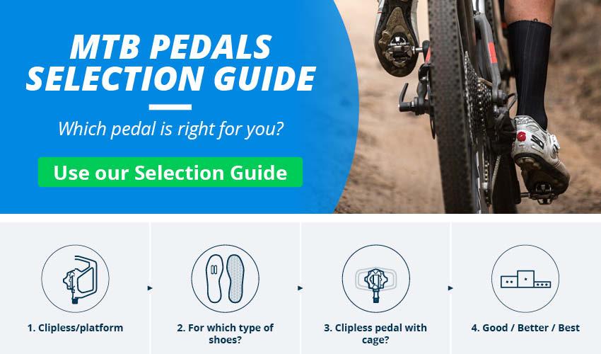 SPD Flat Pedals