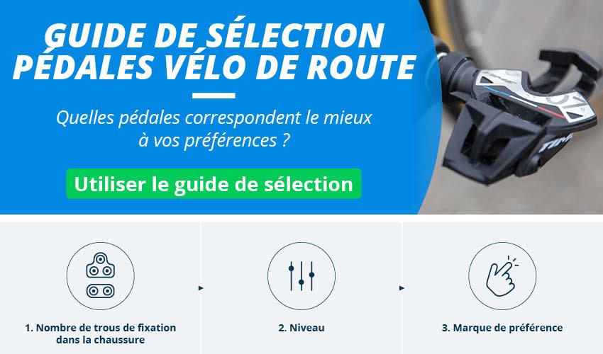 Pédales Vélo Route