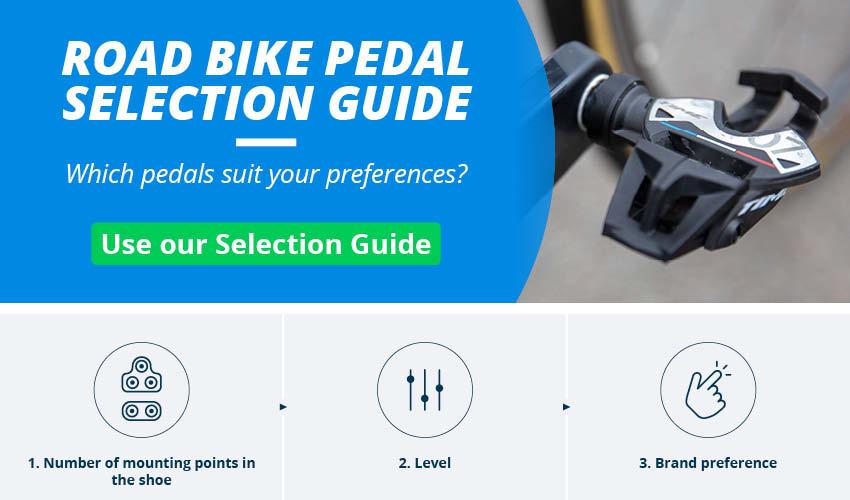 Road Bike Pedals