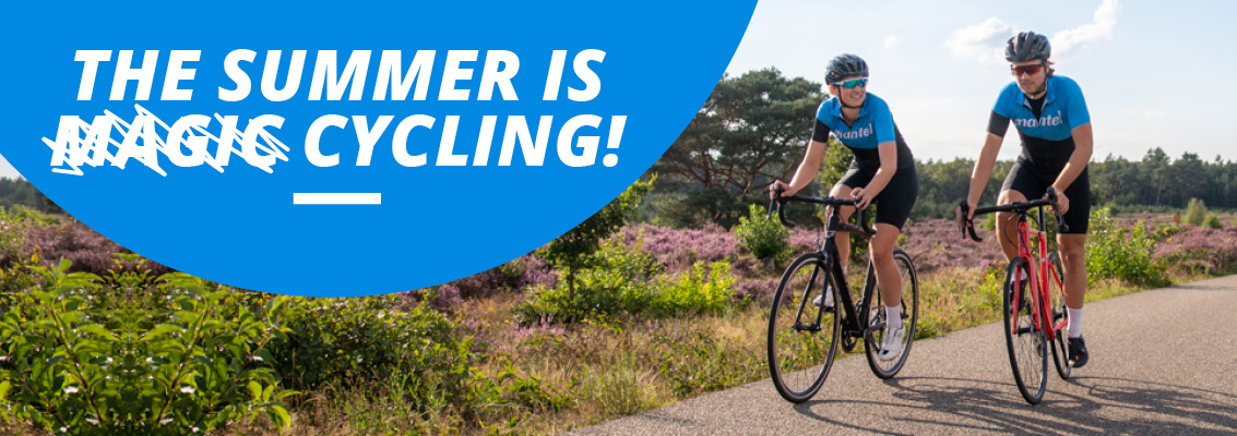 The summer is cycling
