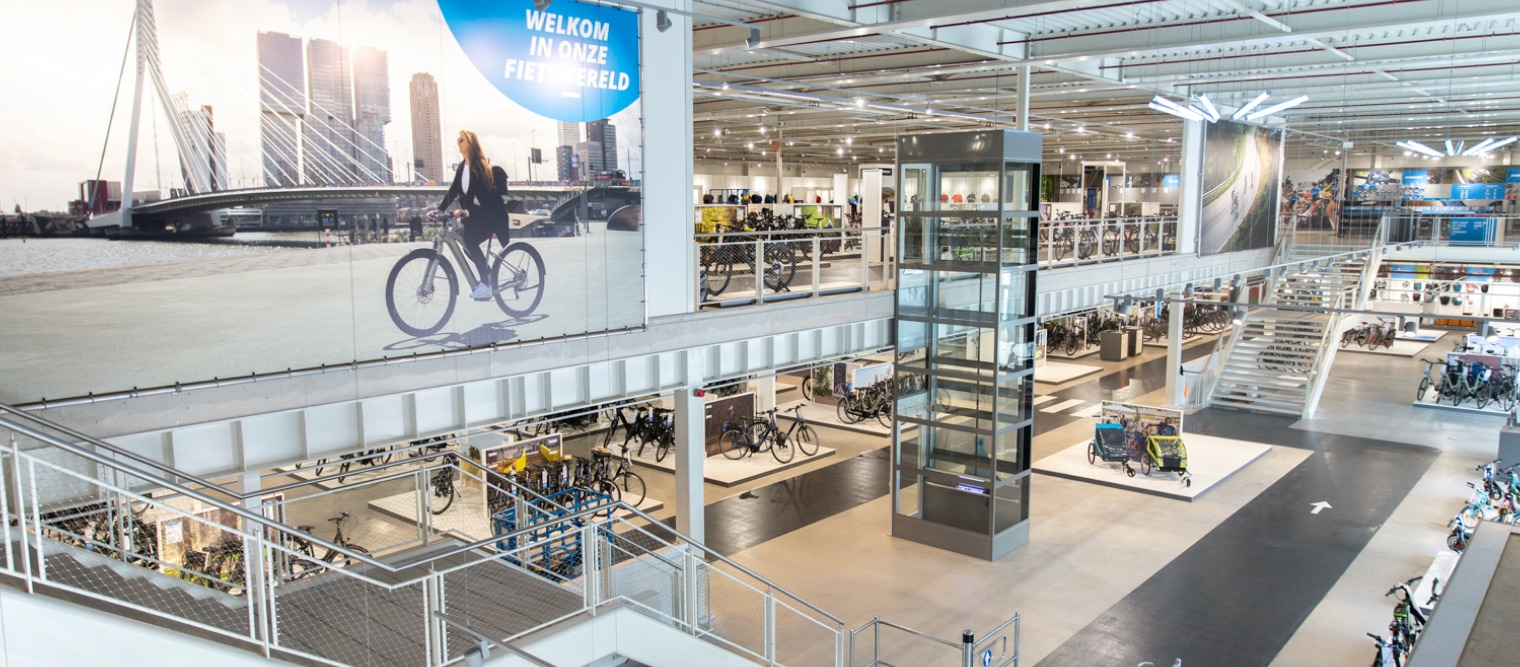 Mantel Superstore - The bike store of Rotterdam