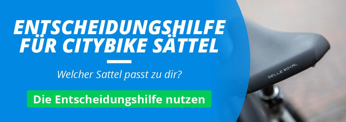 Citybike & E-Bike Sättel