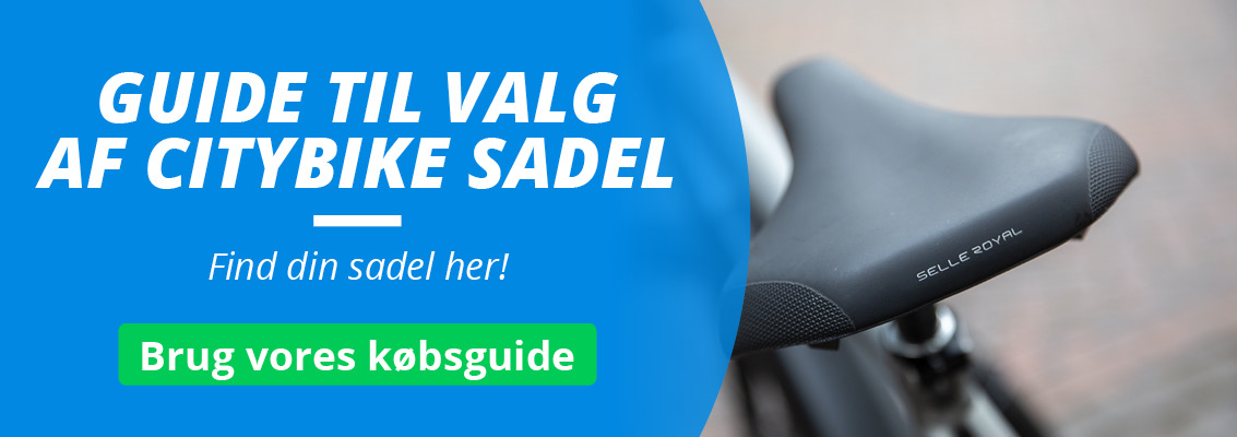 Citybike Sadel