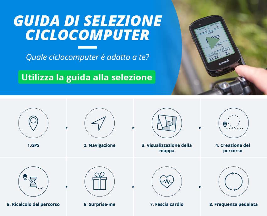 Ciclocomputer e GPS Ciclismo