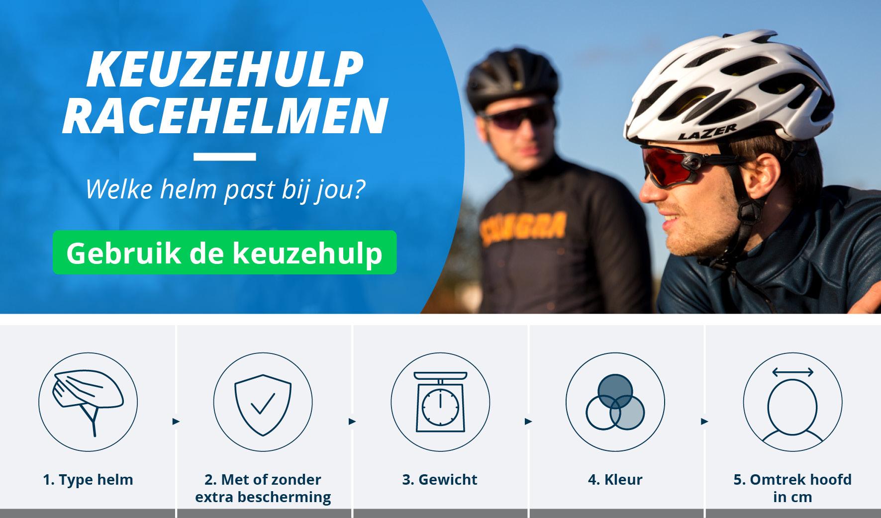 Racefiets Helmen