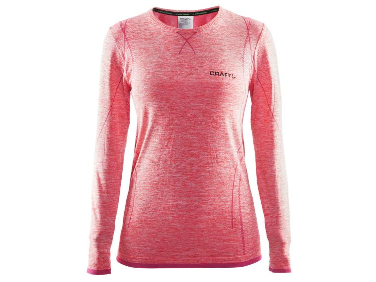 Craft Active Comfort RN LS W Undershirt Pink