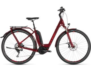 Cube Touring Hybrid EXC 500 Lage instap / Rood