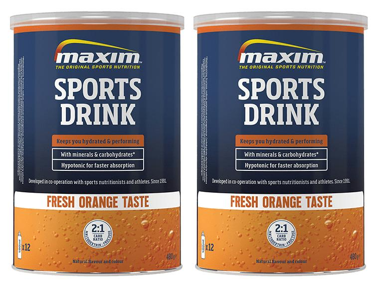 Maxim Sports Drink Orange Combo Pack