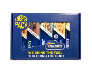 Maxim Energy Bars 10-Pack Mix