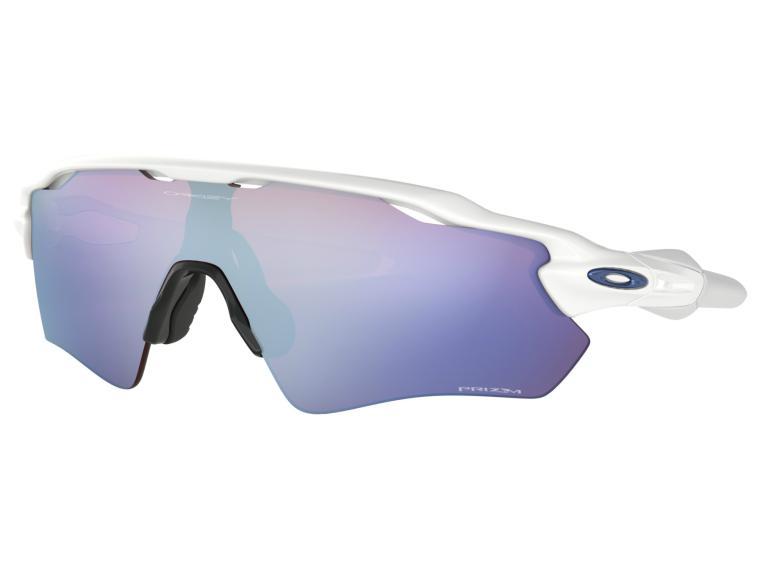 Lunettes de Vélo Oakley Radar EV Prizm Sapphire Snow