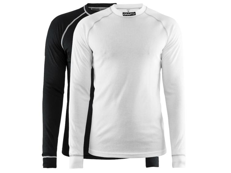 Craft Active 2-Pack Base Layer Black