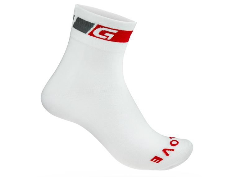 GripGrab Classic Regular Socks White / 1 pair