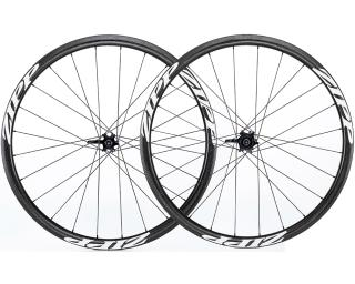 Zipp 202 Firecrest Carbon Tubular Disc Road Bike Wheels Set / White