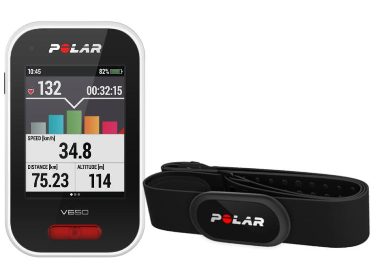 Polar V650 HR Bundle Cycle computer