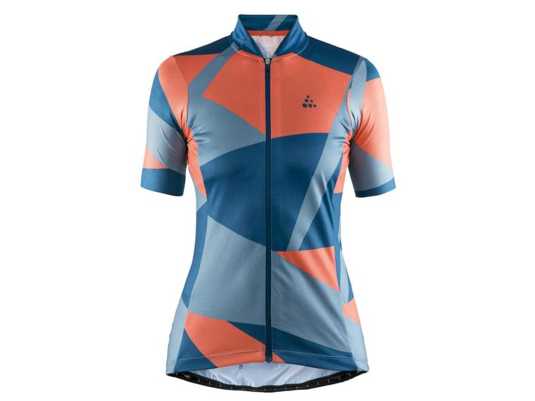 Craft Hale Graphic W Cycling Jersey Nox / Shore