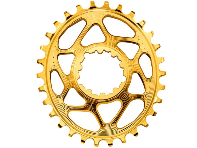 AbsoluteBLACK Sram Oval Boost 148 Chainring Gold