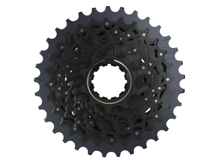 SRAM Force XG-1270 12 Speed Cassette Zwart