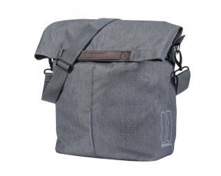 Basil City Shopper Single Pannier Grey