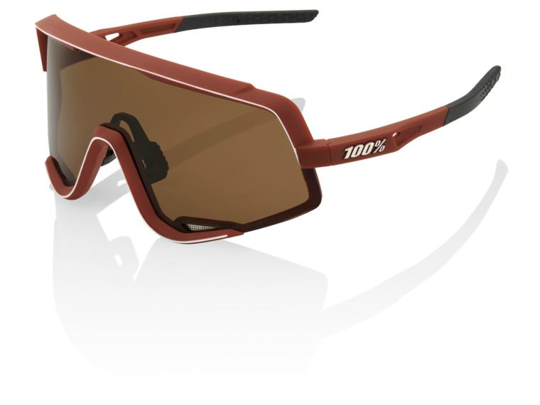 100% Glendale Cycling Glasses Soft Tact Bordeaux