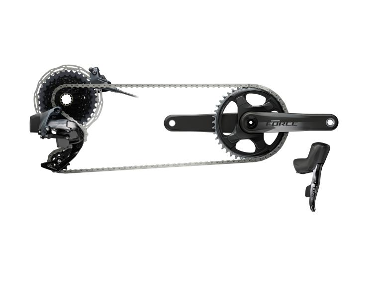 Groupe SRAM Force eTap AXS Disc 1x12 / Disc Flat Mount