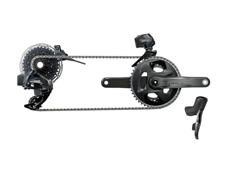 SRAM Force eTap AXS Disc Groupset Disc Flat Mount