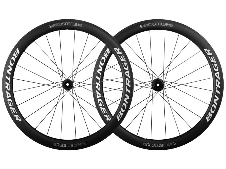 Bontrager Aeolus Comp 5 TLR Disc Road Bike Wheels Set / White