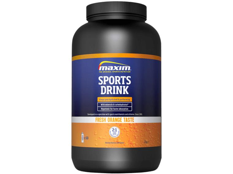 Maxim Sports Drink Sinaasappel / 2000 gram