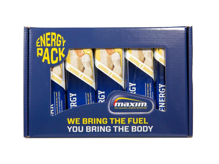 Maxim Energy Bars 10-Pack Banaan