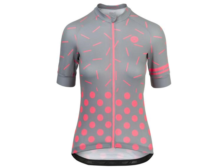 AGU Essential Sprinkle Dot Cycling Jersey Grey