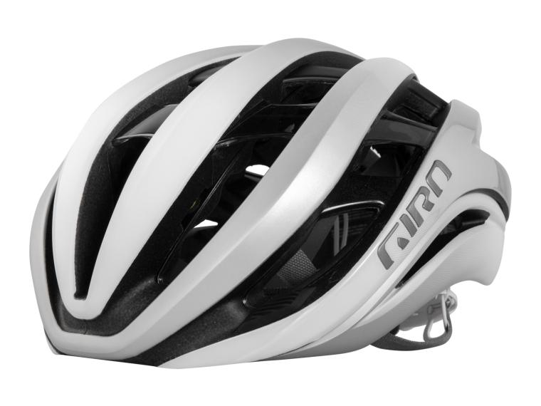 Giro Aether MIPS Racefiets Helm Matte White/Silver