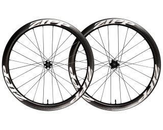 Zipp 303 Firecrest Carbon Clincher Tubeless Disc Road Bike Wheels Set / White