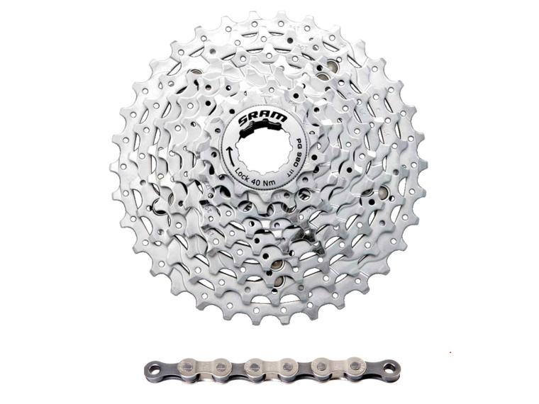 Sram PG-980 9 speed combi-offer