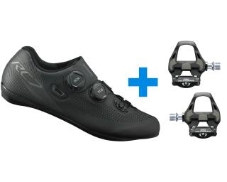 Shimano RC701 + Shimano Ultegra R8000 SPD-SL Road Shoes